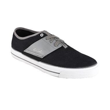 Carvil Men Shoes Canvas Rapper - Black G ..