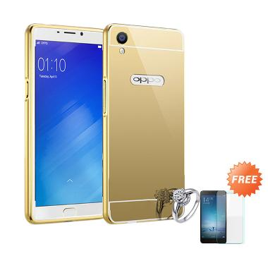 Best seller Case Mirror Bumper for  ... mas + Free Tempered Glass