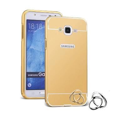Case Bumper Mirror Slide Alumunium  ... or Samsung Galaxy J5 J500