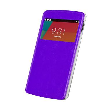 Case Flip Cover Casing for Oppo Yoyo R2001 - Ungu