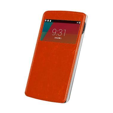 Case Flip Cover Casing for Asus Zenfone 6 - Brown
