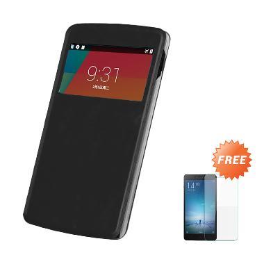 Case Flip Cover Casing for Oppo Opp ... ed Glass Screen Protector