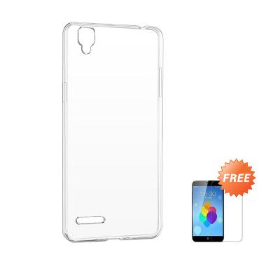 Case Ultra Thin Softcase Casing for ... ear + Free Tempered Glass