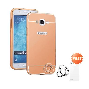 Case Mirror Aluminium Bumper Casing For Samsung Galaxy J2