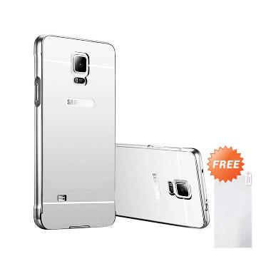Case Aluminium Bumper Mirror Slide  ... ver + Free Tempered Glass