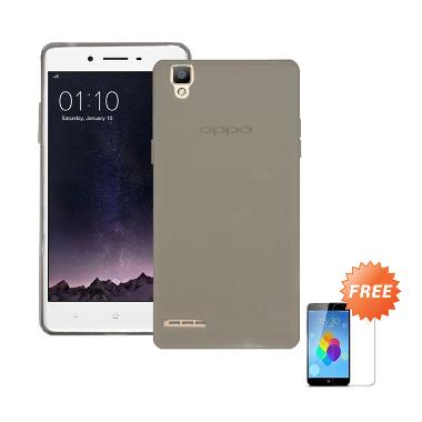 Case Ultra Thin Grey Soft Casing For Oppo F1s Selfie Expert