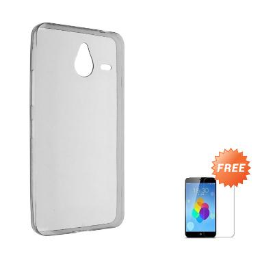 Case Ultra Thin Softcase Casing for ... rey + Free Tempered Glass