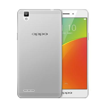 Case Ultrathin Softcase Casing for Oppo F1 - Clear Transparant