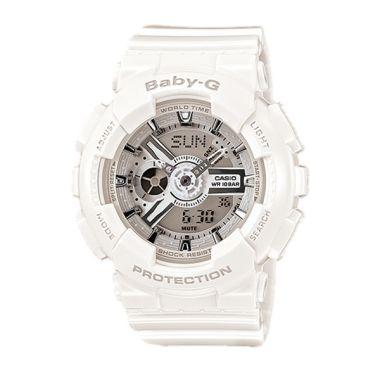 Casio BABY-G BA-110-7A3 White Silve ...