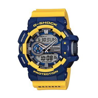CASIO G-SHOCK GA-400-9B Blue Yellow ...