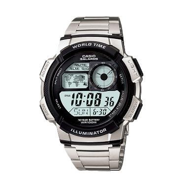Jam Tangan Pria Casio AE-1000WD-1AVDF - Silver