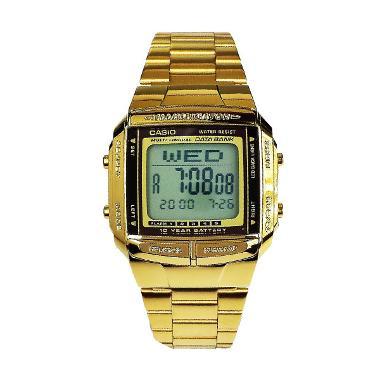 Jam Tangan CASIO DB360 Gold - Unisex