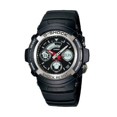 Casio G Shock AW-590-1ADR Jam Tangan Pria - Hitam
