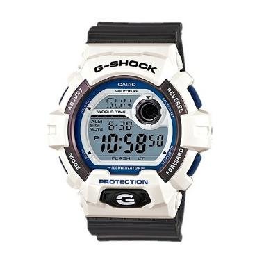 Casio G Shock G-8900SC-7DR Putih Abu-Abu Jam Tangan Pria