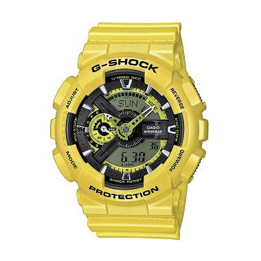 Casio G-Shock GA-110NM-9A Neo Metallic Yellow Jam Tangan Pria