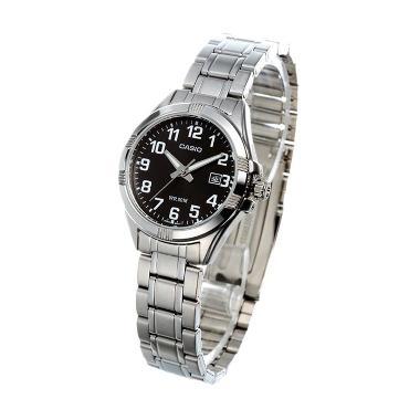CASIO Analog LTP-1308D-1BDR Jam Tangan Wanita - Silver