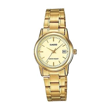 Casio Ladies Analog Jam Tangan Wanita Original T-02VG-9UF