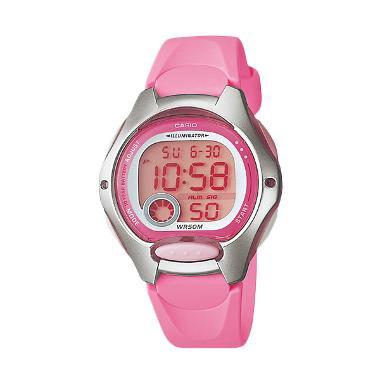 Casio Ladies Sporty LW-200-4BVDF Jam Tangan Wanita - Pink