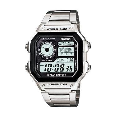 Jam Tangan Casio Man Illuminator AE-1200WHD-1AVDF