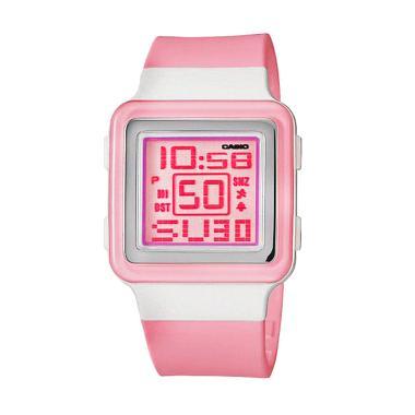 Casio Poptone LDF-30-4AVDR Jam Tangan Wanita - Pink