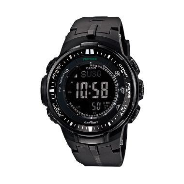 Casio Protrek PRW-3000-1A Triple Se ... r Jam Tangan Pria - Black