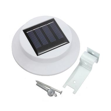 CCC Lampu Pagar Solar - LED Fence Light Outdoor Garden Taman