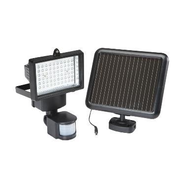 CCC Solar Security 60 LED Lampu Tem ... n Keamanan [Tenaga Surya]