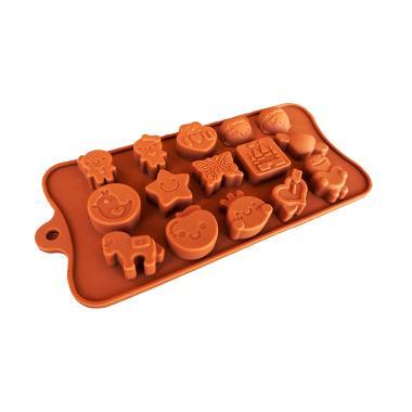 Cetakan Jelly Happy Time Cetakan Coklat atau Puding