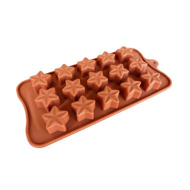 Cetakan Jelly Star 15 Cav Cetakan Coklat or Puding