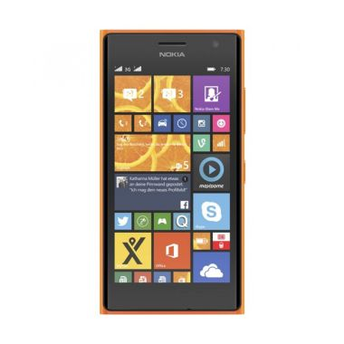 Microsoft Lumia 730 Orange Smartphone