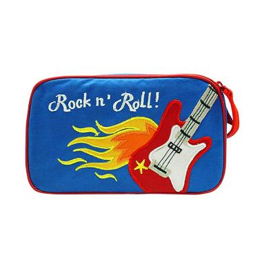 Char & Coll Nathan Rock n Roll Boy Tas Toiletries - Biru