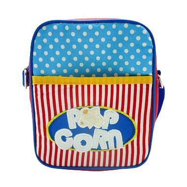 Char & Coll Tiny Sling Bag - Biru Merah