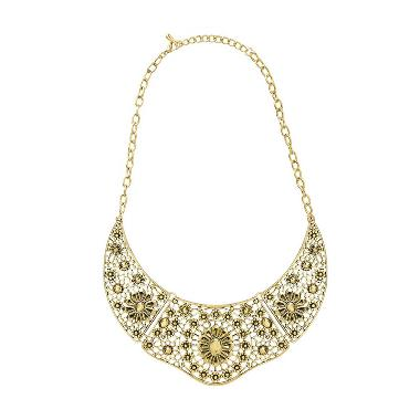 Cherise Paxton Dale Ethnic Necklace Gold Kalung