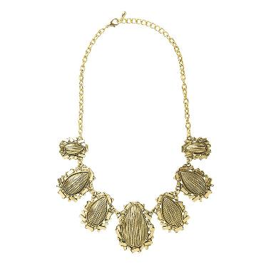 Cherise Paxton Emma Ethnic Necklace Gold Kalung