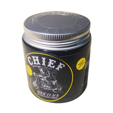 Chief Pomade Water Based Minyak Rambut - Solid Black [4.2 oz / 120 g]