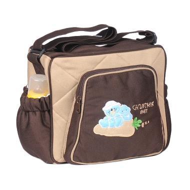Chintaka Baby Small Diaper Bag Motif Doll Cintaka Color Cream