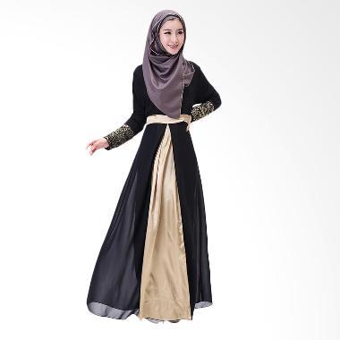 Chloe's Clozette Dress Gamis Lengan Panjang MD 13 Baju Muslim