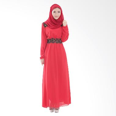 Chloe's Clozette MD 19 Dress Muslim - Maroon