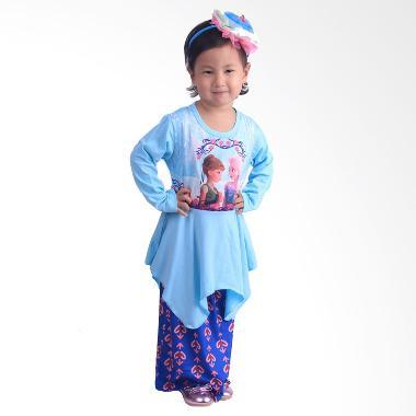chloebaby-shop_chloe-babyshop-f548-frozen-rok-batik-gamis-anak---biru_full16 10 Daftar Harga Gamis Biru Termurah saat ini