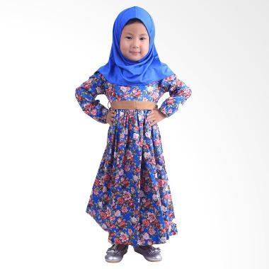 chloebaby-shop_chloe-babyshop-f563-rose-gamis-anak---biru_full16 10 Daftar Harga Gamis Biru Termurah saat ini