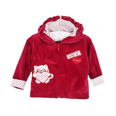 Chloe Babyshop F815 Jacket Wild At Heart - Merah