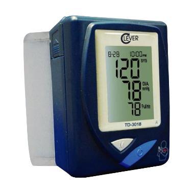 harga Clever-Chek Blood Pressure Monitor TD-3018 Tensimeter Blibli.com