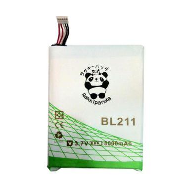 Baterai/Battery Double Power Double Ic Rakkipanda Lenovo P780 / Lenovo BL211 [8000mAh]