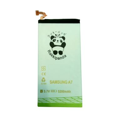 Baterai/Battery Double Power Double Ic Rakkipanda Samsung Galaxy A7 [5200mAh]