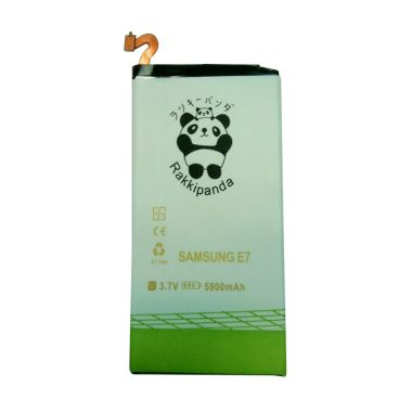 Baterai/Battery Double Power Double Ic Rakkipanda Samsung Galaxy E7 [5900mAh]