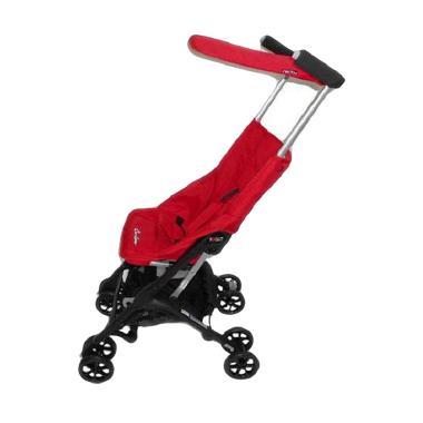 Cocolatte Pockit Stroller CL-689 Ne ... ck Red Kereta Dorong Bayi