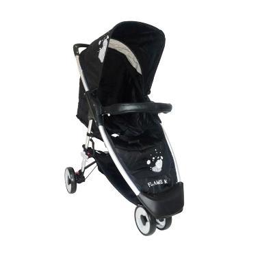 Cocolatte Stroller CL 536 FLAME R Kereta Dorong Bayi - Black
