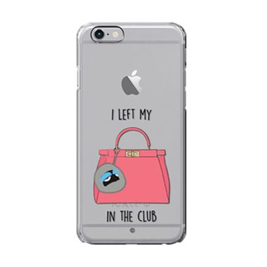 Colorant I left my bag Club Pink Casing for iPhone 6s
