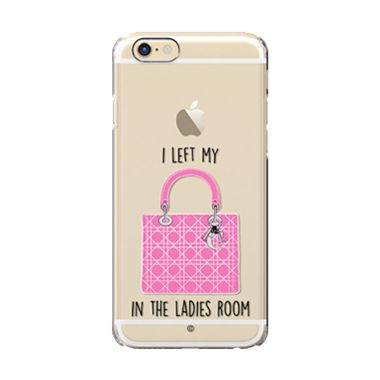 Colorant I Left My Bag LRoom Pink Casing For iPhone 6s Plus