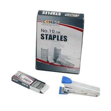 Combo HD10 Stapler dan Isi Staples - Biru